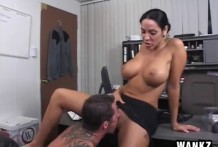 Good worker for pussy boss