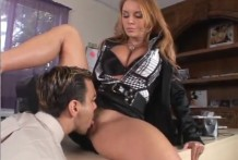 Lick pussy boss for a promotion