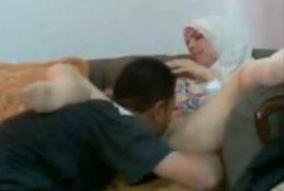 Homemade licking pussy arab girl
