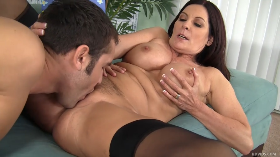 Stepmom seduce stepson to fuck her first time 6